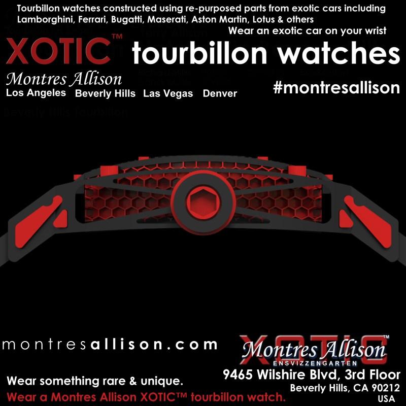 XOTIC Tourbillon watches