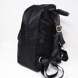 mochila unisex negro