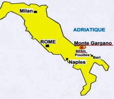Monte Gargano Italie vénération reliques de Saint-Michel