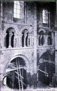 Etat d'abandon du Mont-Saint-Michel
