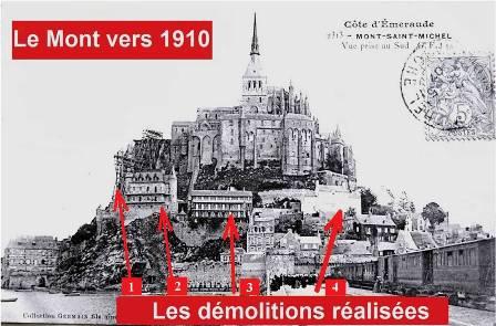 Le Mont-Saint-Michel en 1910