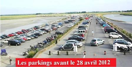 Dernier jour parking sur la digue