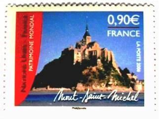 Timbre Mont-Saint-Michel en 2006 Patrimoine mondial