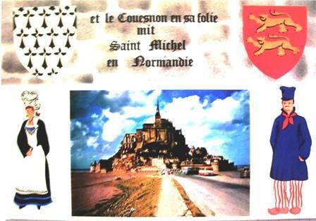 Le Couesnon a mis le Mont en Normandie