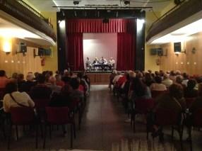 Rosa Pous, Montse Batlle, Xavier Graset i Regidor de l'Ajuntament de Ribes