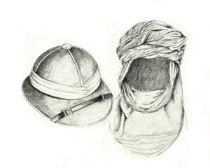 Salacot d'en Salacot i turbant del Fosc