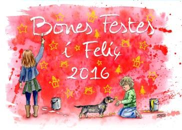 Felicitació de Nadal 2015 | Postal de Navidad 2015 | Christmas Card 2015