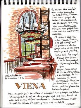 Sketch al Viena. Fira modernista de Terrassa 2016