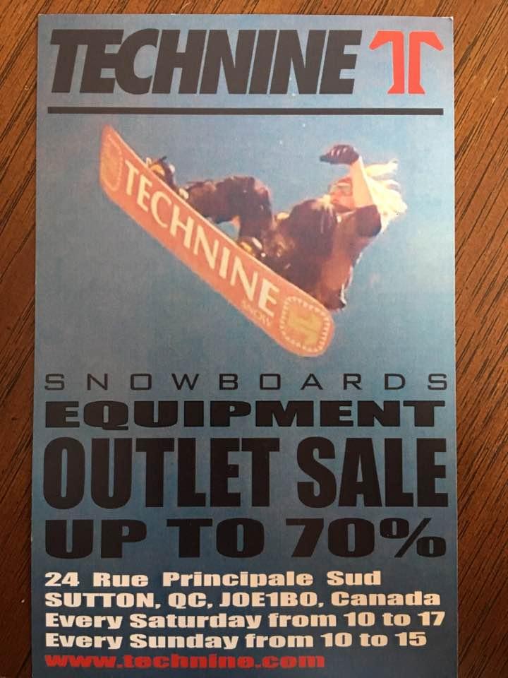 Technine Snowboard Equipment Outlet Sale – Sutton