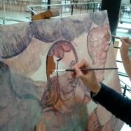 Restauración de pinturas