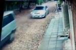 madre de niñas persecución policías a transporte escolar CAPT