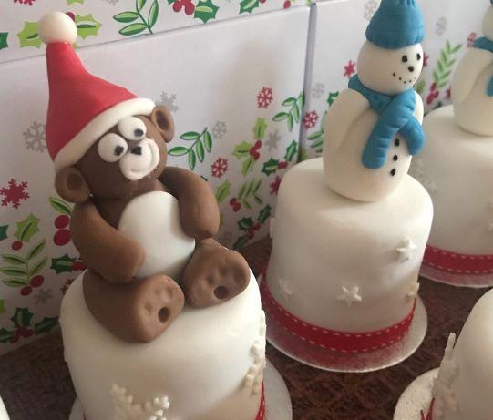 """2"""" Cakes - £5.50 each"""