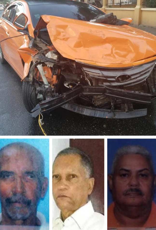 Santiago: Tres muertos accidente de tránsito