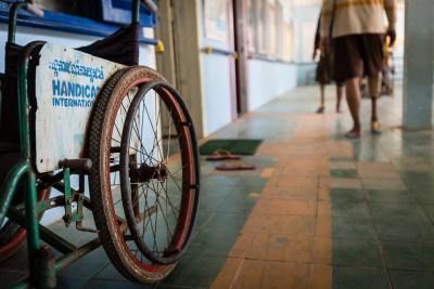 Rééducation au Cambodge