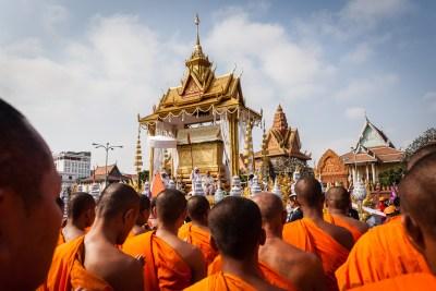 Funéraille de sa majesté Sihanouk
