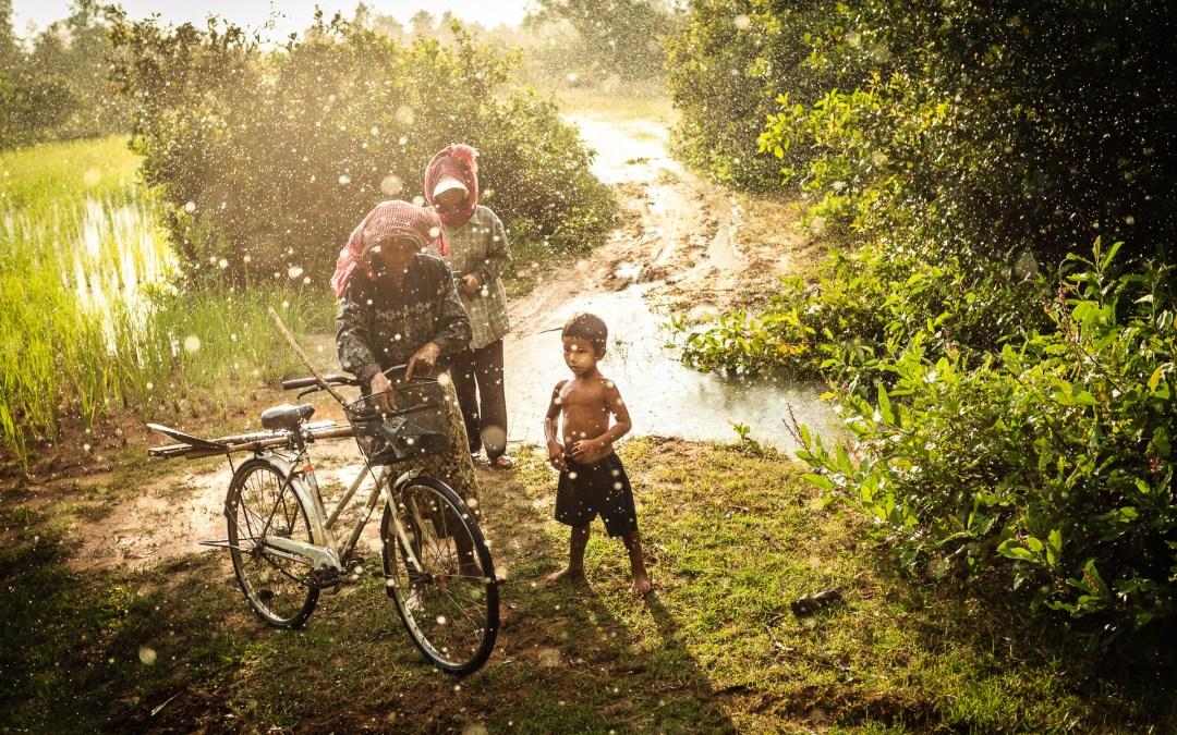 Mousson au Cambodge