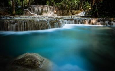 Les chutes d'eau de Kuang Si – L'image expliquée –