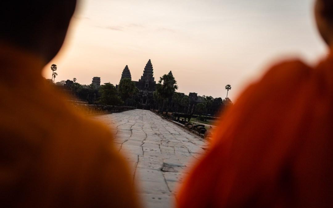 Angkor Wat vide en 2020