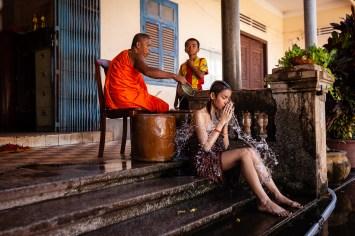 Bénédiction bouddiste