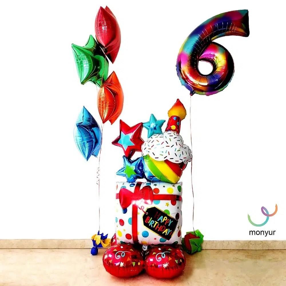 Mega Bouquet de Globos HB Gift Cupcake