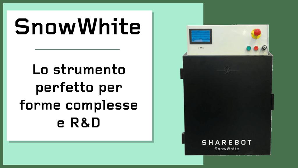 Prodotti Sharebot Monza stampante 3d Sharebot Snowwhite