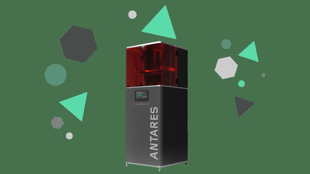 Stampanti 3D professionali Sharebot Monza Sharebot Antares stampante 3D