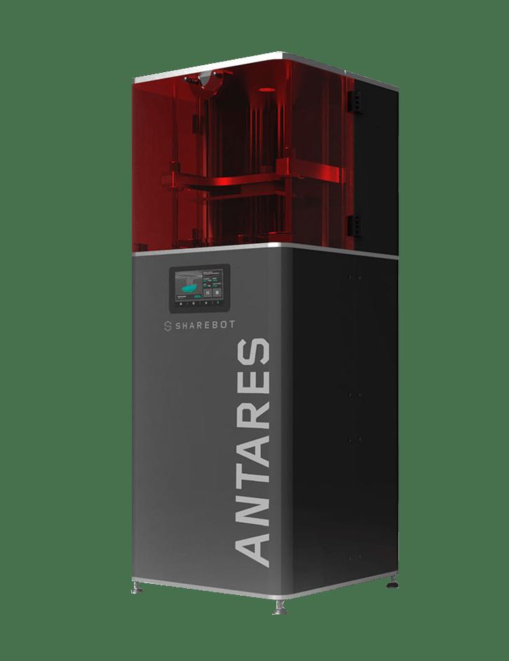 Stampante 3d professionale sharebot antares filamento sharebot monza 3d store shop migliori stampanti 3d a resina