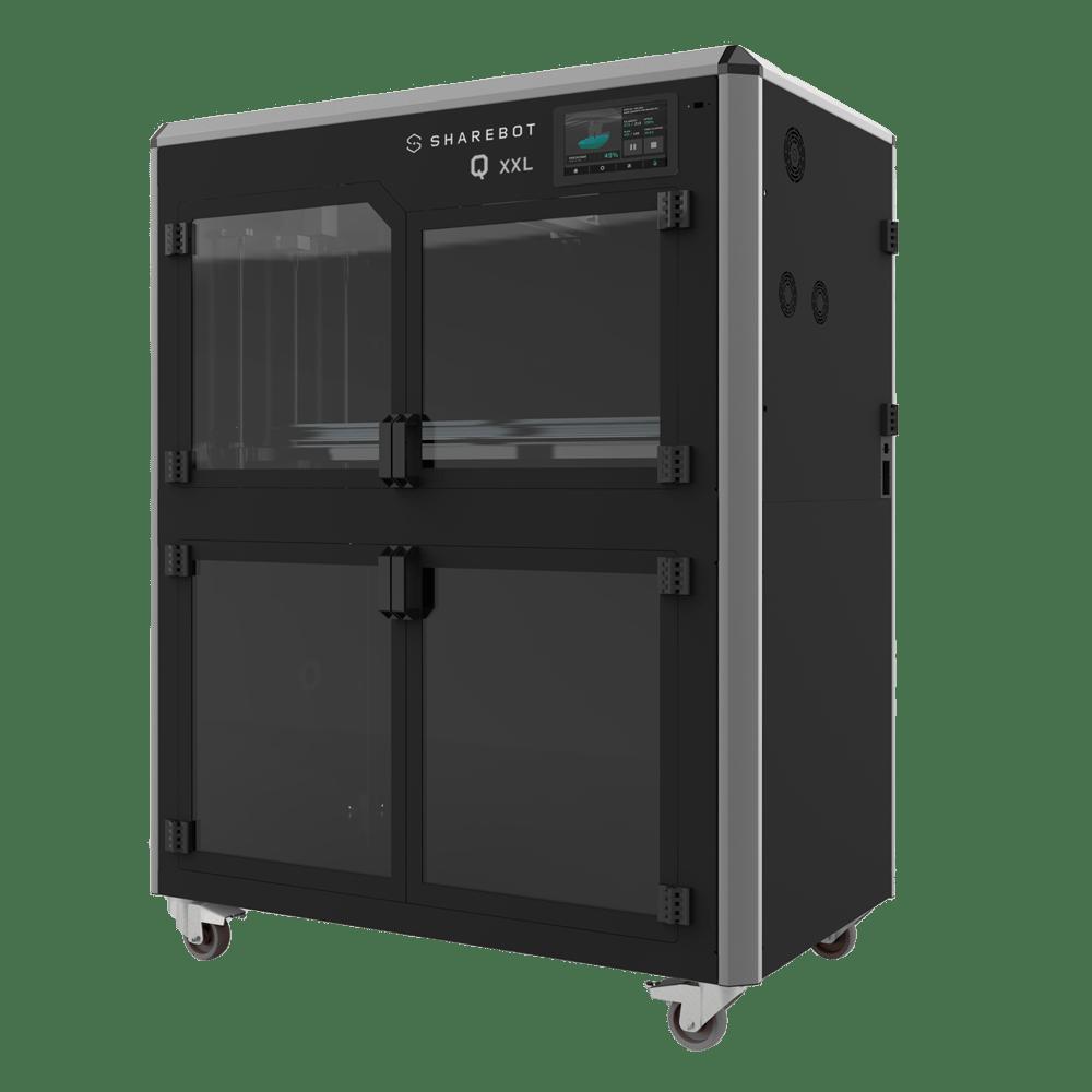 Stampante 3d professionale sharebot qxxl filamento sharebot monza 3d store shop