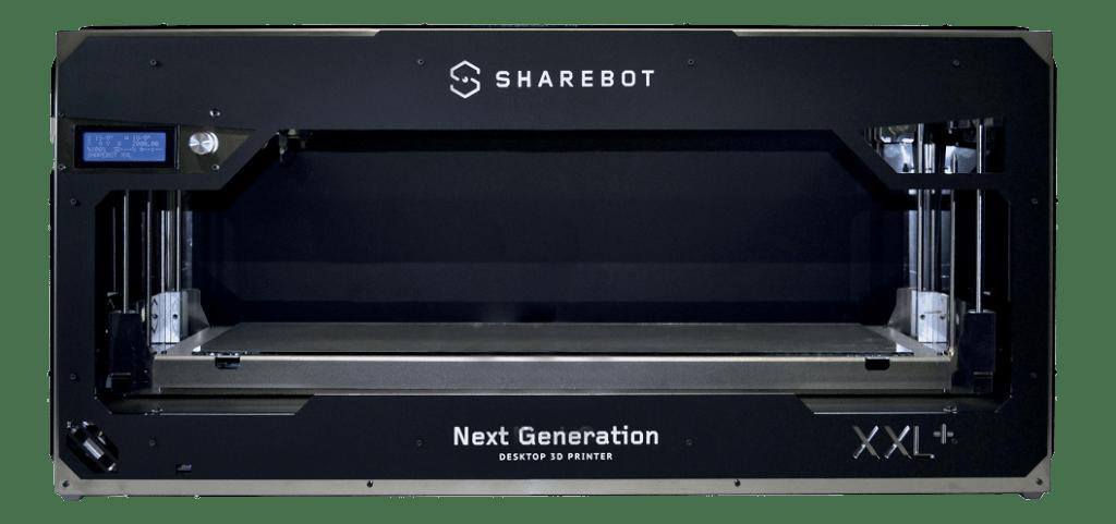 Stampante 3d professionale sharebot xxl plus filamento sharebot monza 3d store shop