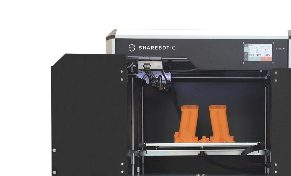 Stampante 3d professionale sharebot q filamento sharebot monza 3d store shop