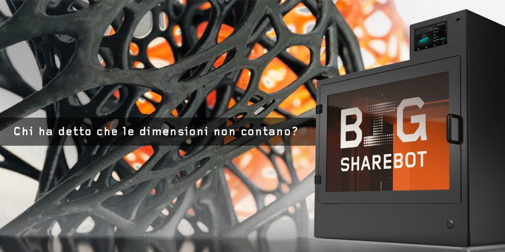 sharebot big stampante 3d resina grande formato sharebot monza
