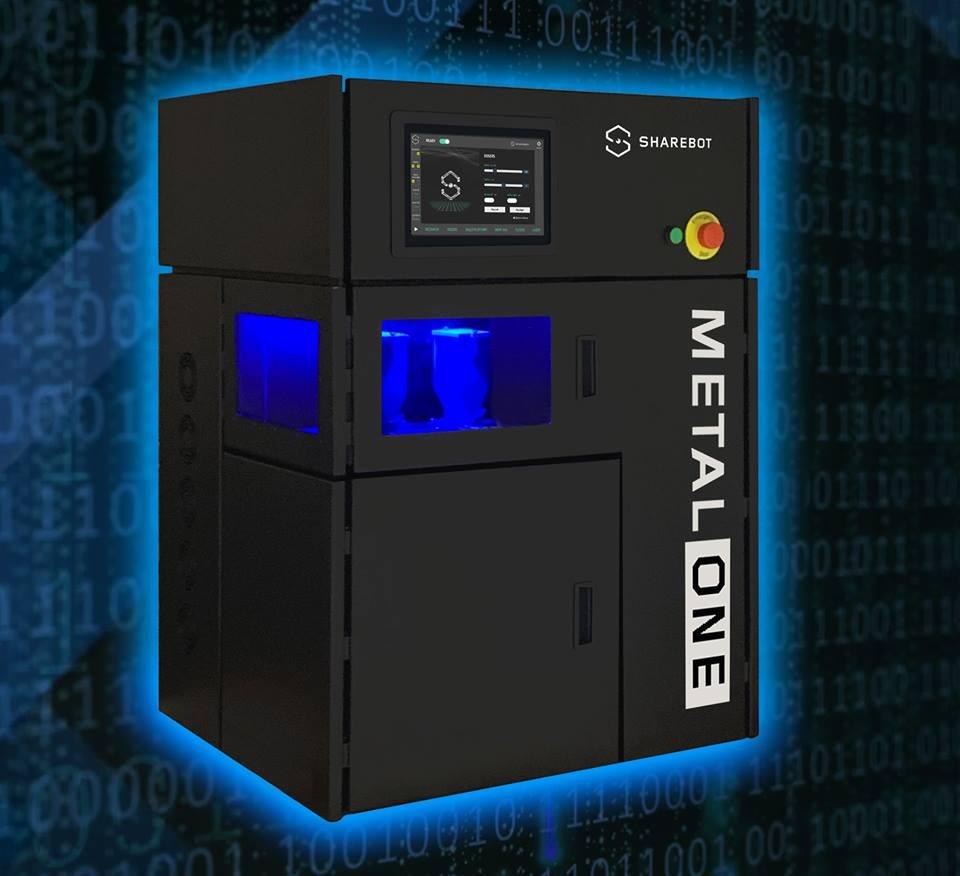 stampante 3d metallo sharebot monza