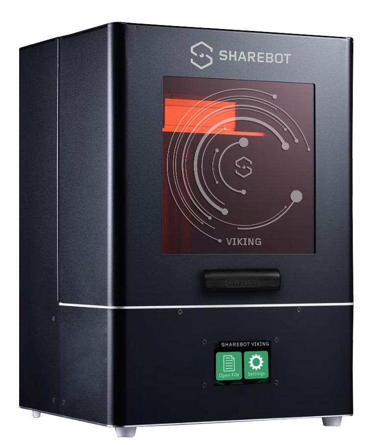 stampante 3d dlp grandi dimensioni sharebot viking sharebot monza