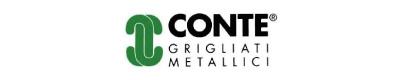 logo conte grigliati metallici 3d store monza
