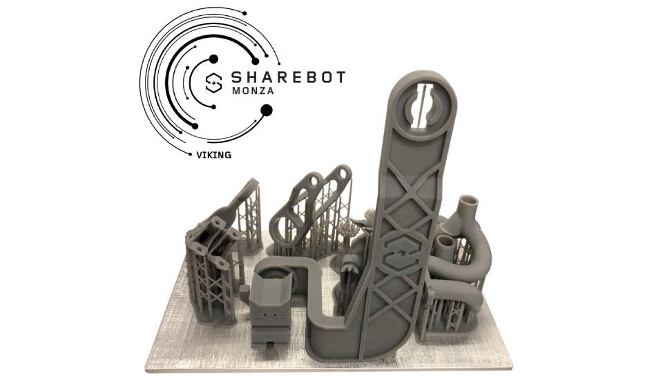 sharebot viking stampante 3d resina grande formato 3d store monza