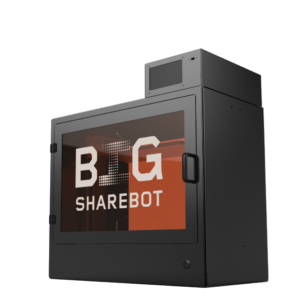 stampanti 3d resina sharebot big 3d store monza