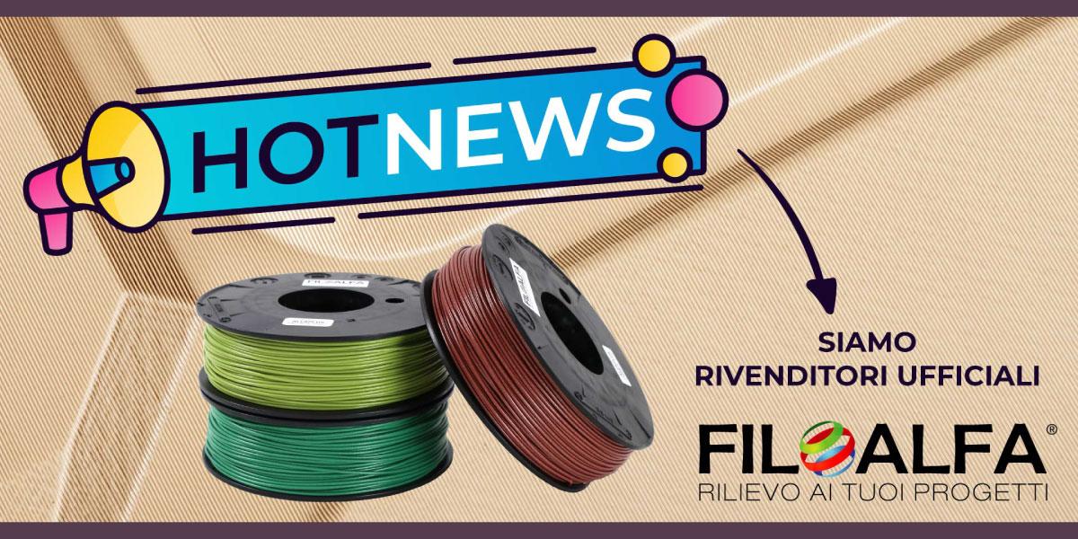 sharebot 3d store monza rivenditori filoalfa filamenti stampa 3d