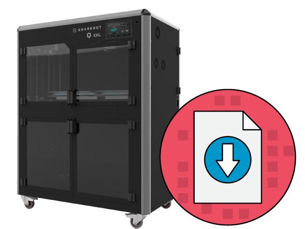 scheda tecnica sharebot qxxl stampante 3d store monza
