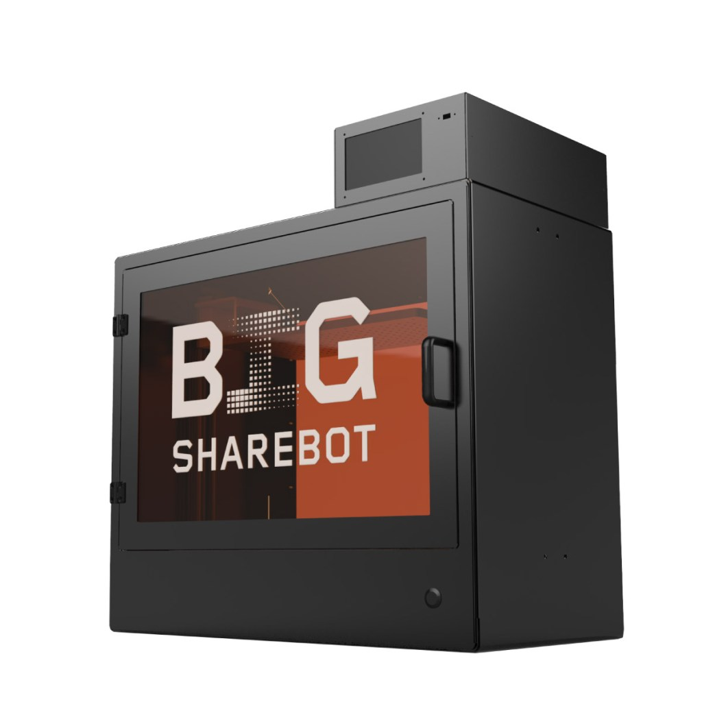 download sharebot big stampante 3d store monza