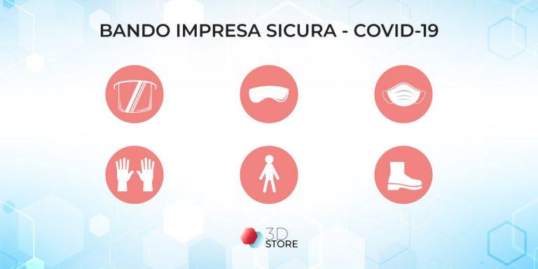 bando dpi covid-19 bando impresa sicura stampa 3d store monza