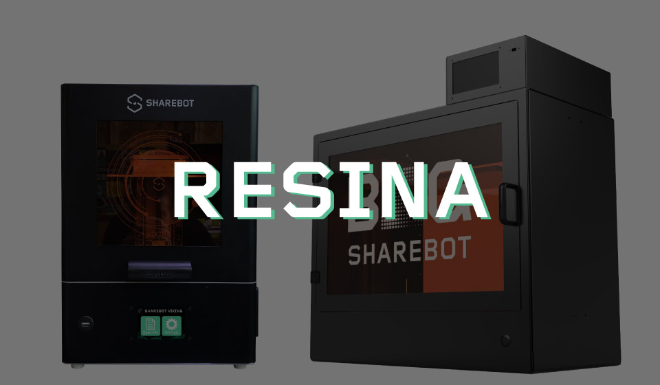 stampanti 3d resina sharebot 3d store monza sharebot monza