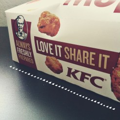 kfc japan gives out cooler boxes