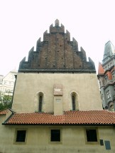 Old New Synagogue (Staronová synagoga) also called Altneuschul
