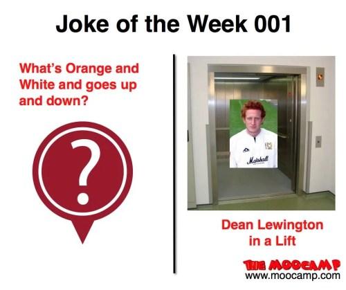 The MooCamp Radio Show - Joke of the Week 001