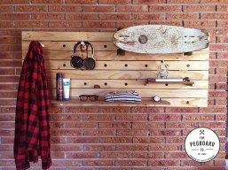 """The Pegboard Company have bought something unique to your home. I'm into having """"things"""" but often don't have the space for them - these bad-boys are perfect... would look great with some hanging plants too! http://www.pegboardco.co.nz"""