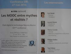 programme de la conférence du G9+ du 27 mai 2014