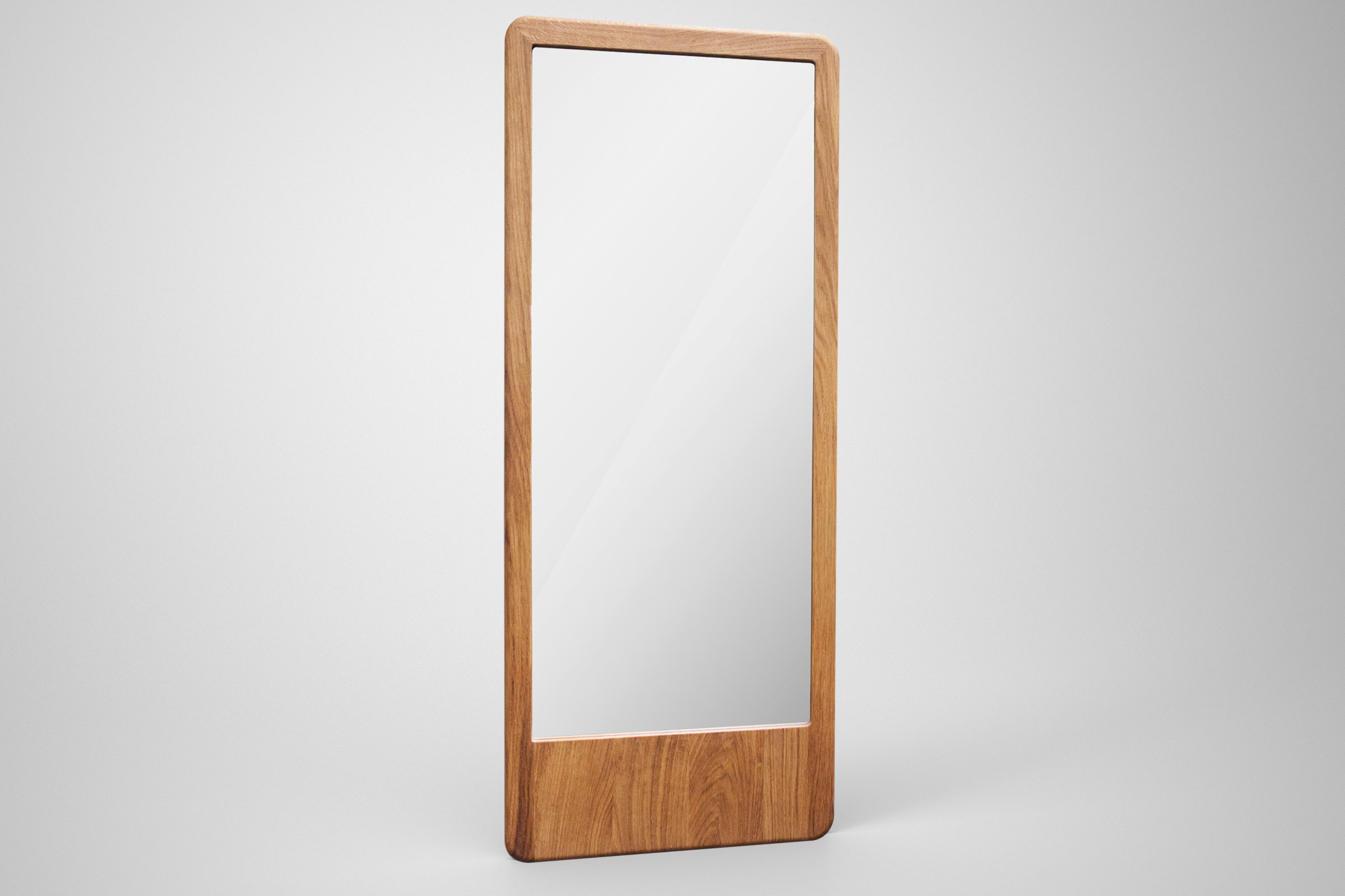 Oak mirror from Moodi