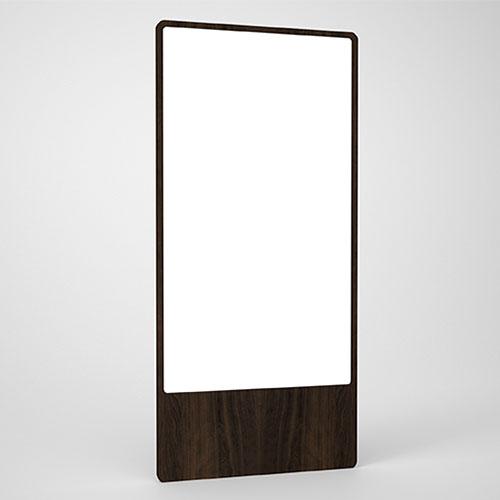 Large oak mirror from Moodi