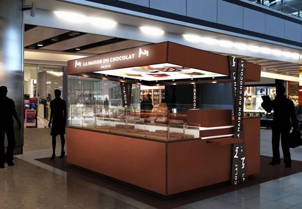 heathrow t5 welcomes luxury retailer la
