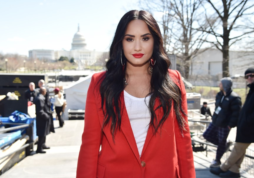 Demi Lovato March for Our Lives